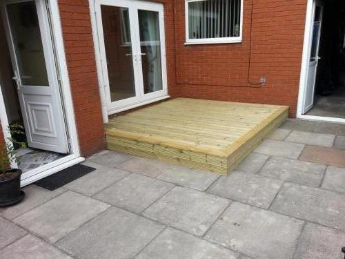 Decking and UPVC windows and doors